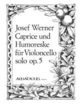 Caprice und Humoreske op. 5 Joseph Werner Partition laflutedepan.com