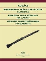 Tägliche Tonleiterübungen – Klarinette - laflutedepan.com