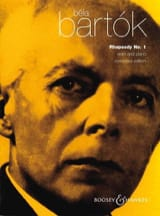 Bela Bartok - Rhapsody n ° 1 for violin - Sheet Music - di-arezzo.com