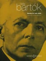 Sonata for Solo Violin (Menuhin) Béla Bartok laflutedepan.com