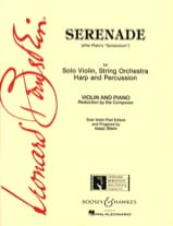 Leonard Bernstein - Serenade - Sheet Music - di-arezzo.co.uk