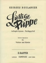 Georges Boulanger - Lustige Puppe - Sheet Music - di-arezzo.com