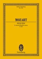 Requiem d-moll KV 626 - Conducteur - laflutedepan.com