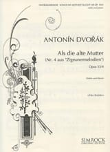 Dvorak Antonin / Kreisler Fritz - Songs my mother taught me op. 55 n° 4 - Partition - di-arezzo.fr