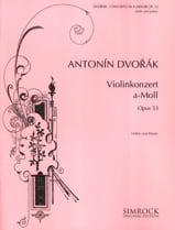 DVORAK - Violin Concerto op. 53 in A minor - Sheet Music - di-arezzo.co.uk