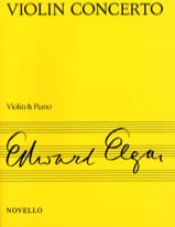 Edward Elgar - Violin Concerto op. 61 - Sheet Music - di-arezzo.co.uk