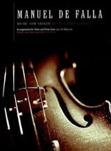 DE FALLA - Music for violin from El Amor Brujo - Sheet Music - di-arezzo.co.uk