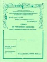 Lucas Marie-Luce / Fantapié Henri Claude / Succari Dia - Cours de FM – Débutant 1 - Elève - Partition - di-arezzo.fr