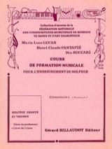 Lucas Marie-Luce / Fantapié Henri Claude / Succari Dia - Cours de FM – Elémentaire 1 - Elève - Partition - di-arezzo.fr