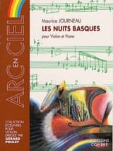 Les nuits basques op. 9 Maurice Journeau Partition laflutedepan