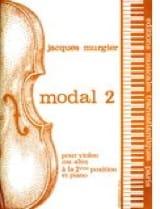 Jacques Murgier - Modal 2 - Partition - di-arezzo.fr