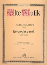 Konzert für Violine in e-moll Pietro Nardini laflutedepan.com