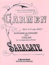 Carmen fantaisie de concert op. 25 Pablo de Sarasate laflutedepan.com