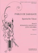 Pablo de Sarasate - Spanish Dances Opus 22 Volume 2 - Sheet Music - di-arezzo.co.uk