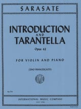 Pablo de Sarasate - Introduction and Tarantella op. 43 - Sheet Music - di-arezzo.co.uk
