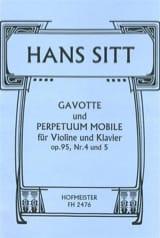 Gavotte op. 95 n° 4 et Perpetuum Mobile op. 95 n° 5 laflutedepan.com