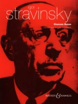 Igor Stravinsky - Russian Song - Sheet Music - di-arezzo.com