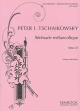 TCHAIKOVSKY - Serenade melancholy op. 26 - Sheet Music - di-arezzo.co.uk