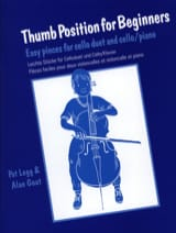 Thumb position for beginners Legg Pat / Gout Alan laflutedepan.com