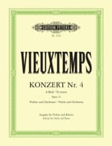 Henri Vieuxtemps - Concerto Violon n° 4 ré mineur op. 31 - Partition - di-arezzo.fr