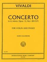 Concerto sol mineur op. 12 n° 1 (RV 317 ) laflutedepan.com