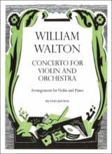 William Walton - Concerto for violin - Partition - di-arezzo.fr