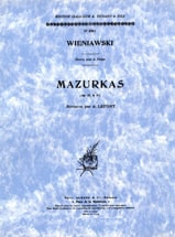 WIENIAWSKI - Mazurkas op. 12 and op. 19 - Sheet Music - di-arezzo.co.uk