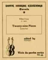 Twenty-nine pieces – solo viole William Young laflutedepan.com