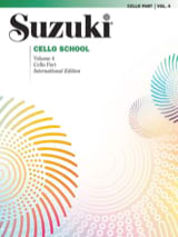 Suzuki - Cello School Volume 4 – Cello-Part - Partition - di-arezzo.fr