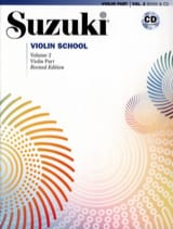 Violin School Vol 2 Suzuki Partition Violon - laflutedepan.com