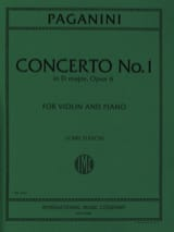 Concerto n° 1 in D major, op. 6 (Flesch) laflutedepan.com
