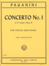 Concerto n° 1 in D major, op. 6 Francescatti laflutedepan.com