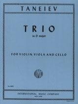 Trio in D major -Violin viola cello - Parts laflutedepan.com