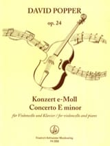 David Popper - Konzert e-moll op. 24 - Partition - di-arezzo.fr