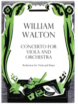 Concerto for viola and orchestra - William Walton - laflutedepan.com