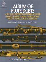 Album of Flute Duets - 2 Flûtes Louis Moyse Partition laflutedepan.com