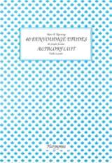 Hans P. Keuning - 40 Eenvoudige Etudes - Altblokfluit - Partition - di-arezzo.fr