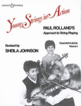 Young strings in action, Volume 1 - Teacher's book laflutedepan.com