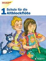 Heyens Gudrun / Engel Gerhard - Schule für die Altblockflöte - Bd. 1 Spiel und Spass mit der Blockflöte - Partitura - di-arezzo.it