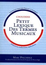 Petit Lexique des Termes Musicaux - Marc Pincherle - laflutedepan.com