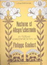 Philippe Gaubert - Nocturne and Allegro Scherzando - Sheet Music - di-arezzo.com