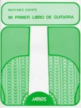Jorge Martinez Zarate - Mi primer libro de guitarra - Partition - di-arezzo.fr