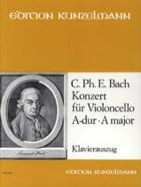 Concerto en la Majeur - Wq.172 laflutedepan.com
