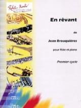 En rêvant Jean Brouquières Partition laflutedepan.com