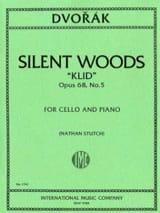 Silent Woods Klid op. 68 n° 5 Antonin Dvorak laflutedepan.com