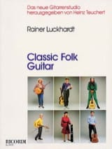 Classic folk guitar Rainer Luckhardt Partition laflutedepan.com
