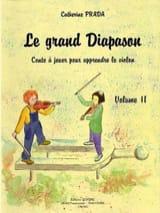 Le Grand Diapason Volume 2 Catherine Prada Partition laflutedepan.com
