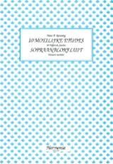 10 Moeilijke Etudes - Sopraanblokfluit - laflutedepan.com