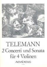 2 Concerti Und Sonata (Twv40:201,202,203) laflutedepan.com