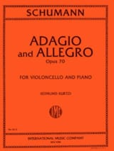 SCHUMANN - Adagio and Allegro op. 70 - Cello - Sheet Music - di-arezzo.co.uk
